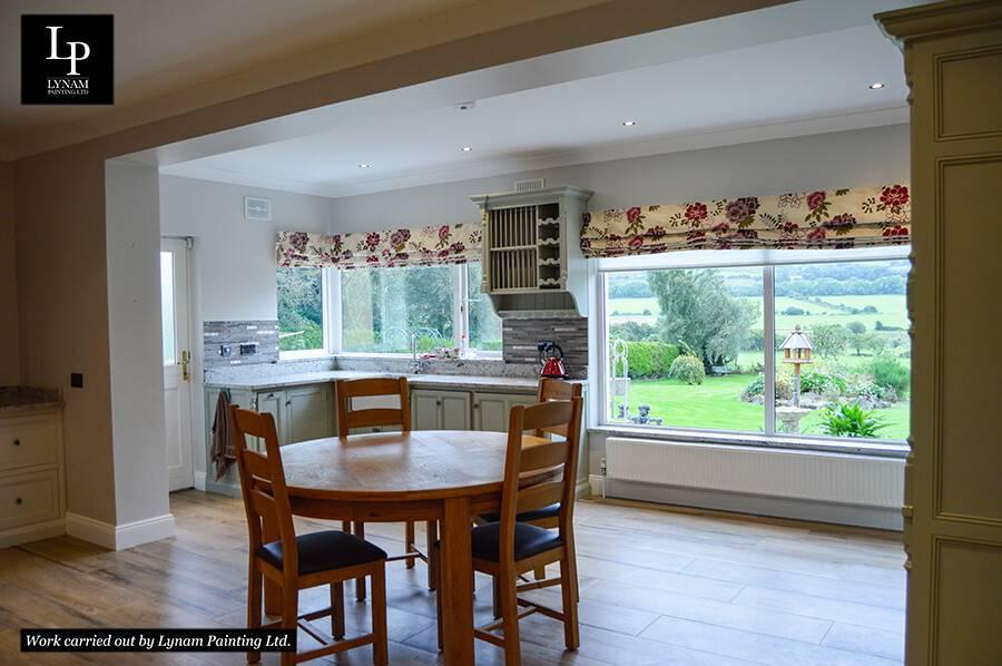 Lynam Painting Ltd - Kitchen-Living Room