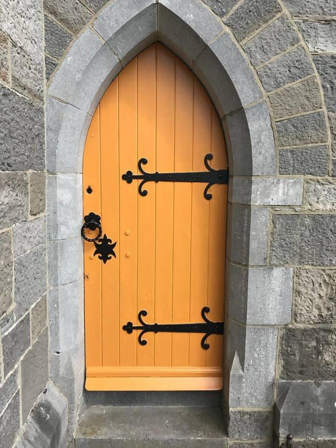 Lynam Painting Ltd - Lady Chapel Church Door 2 (1)