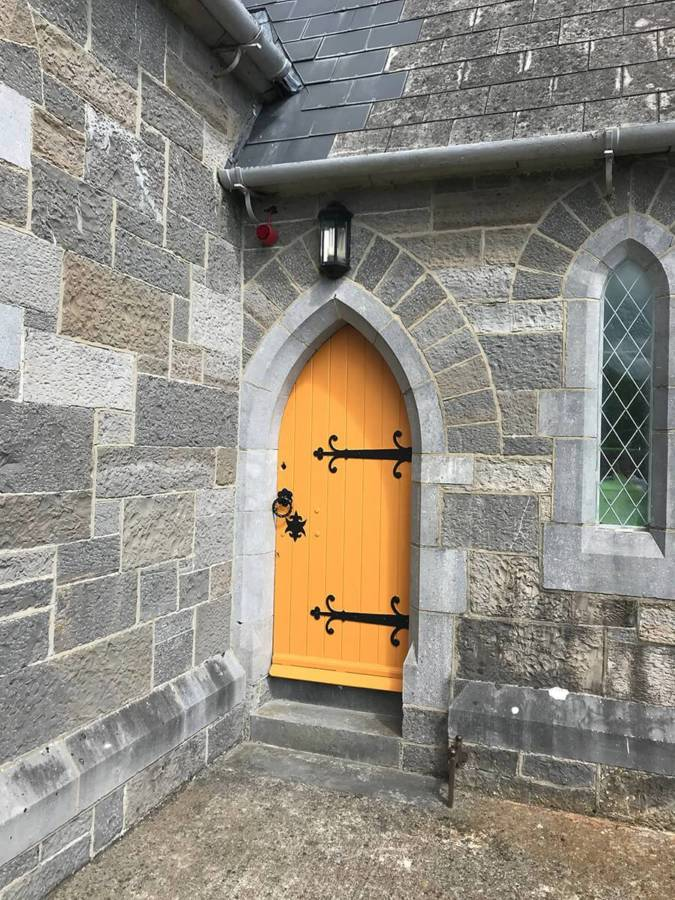 Lynam Painting Ltd - Lady Chapel Church Door 3
