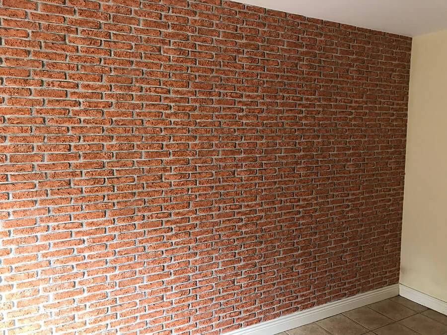 Lynam Painting Ltd - Red Brick Effect Wallpaper 4