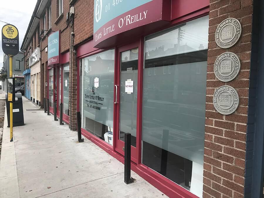 Lynam Painting Ltd - Shopfront 4