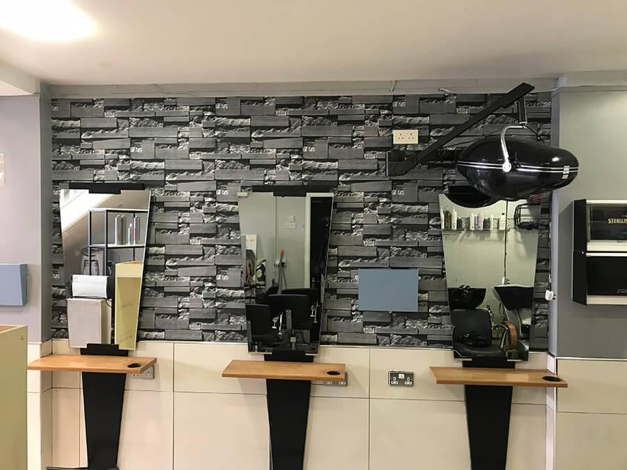 Lynam Painting Ltd - Wallpapering Hairdressers 4 (1)